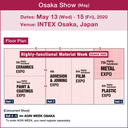 Highly-functional METAL EXPO OSAKA [Osaka Show (May)]